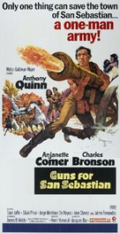 La bataille de San Sebastian - Movie Poster (xs thumbnail)