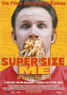Super Size Me - Brazilian poster (xs thumbnail)