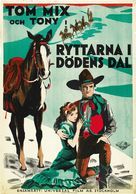The Rider of Death Valley - Swedish Movie Poster (xs thumbnail)