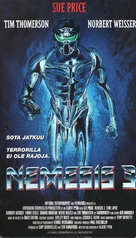 Nemesis III: Prey Harder - Finnish VHS movie cover (xs thumbnail)