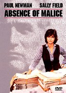 Absence of Malice - DVD cover (xs thumbnail)