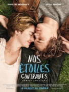 The Fault in Our Stars - French Movie Poster (xs thumbnail)