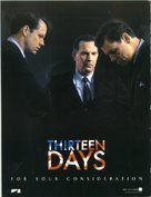Thirteen Days - For your consideration movie poster (xs thumbnail)