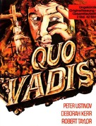Quo Vadis - German Movie Cover (xs thumbnail)