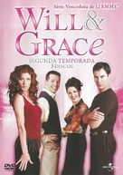 """Will & Grace"" - Brazilian DVD cover (xs thumbnail)"