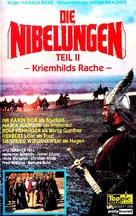 Die Nibelungen, Teil 2 - Kriemhilds Rache - German VHS movie cover (xs thumbnail)