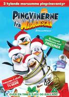 The Madagascar Penguins in: A Christmas Caper - Danish DVD movie cover (xs thumbnail)