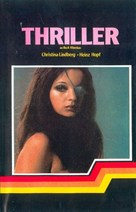 Thriller - en grym film - Swedish VHS cover (xs thumbnail)
