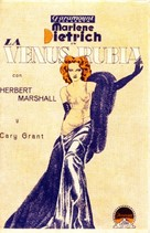 Blonde Venus - Spanish Movie Poster (xs thumbnail)