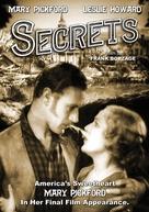 Secrets - DVD cover (xs thumbnail)