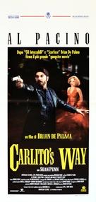 Carlito's Way - Italian Movie Poster (xs thumbnail)