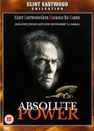 Absolute Power - British DVD cover (xs thumbnail)