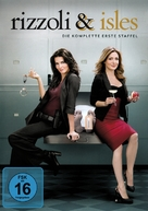 """Rizzoli & Isles"" - German DVD cover (xs thumbnail)"