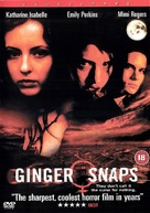 Ginger Snaps - British DVD movie cover (xs thumbnail)