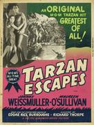 Tarzan Escapes - Movie Poster (xs thumbnail)