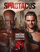 """Spartacus: Blood And Sand"" - Belgian Movie Poster (xs thumbnail)"