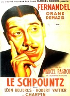 Schpountz, Le - French Movie Poster (xs thumbnail)