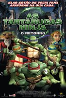 TMNT - Brazilian Movie Poster (xs thumbnail)