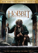 The Hobbit: The Battle of the Five Armies - DVD movie cover (xs thumbnail)