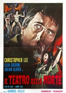 Theatre of Death - Italian Movie Poster (xs thumbnail)