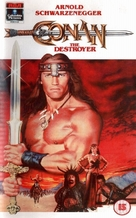 Conan The Destroyer - British VHS movie cover (xs thumbnail)