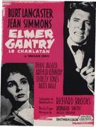 Elmer Gantry - French Movie Poster (xs thumbnail)