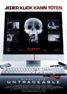 Untraceable - German Movie Poster (xs thumbnail)
