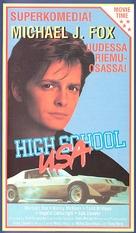 High School U.S.A. - Finnish VHS movie cover (xs thumbnail)
