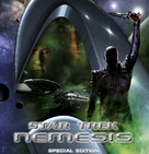 Star Trek: Nemesis - German Blu-Ray movie cover (xs thumbnail)