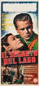 The Secret of Convict Lake - Italian Movie Poster (xs thumbnail)