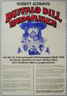 Buffalo Bill and the Indians, or Sitting Bull's History Lesson - German Movie Poster (xs thumbnail)