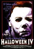 Halloween 4: The Return of Michael Myers - German Movie Poster (xs thumbnail)