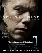 Den skyldige - Dutch Movie Poster (xs thumbnail)