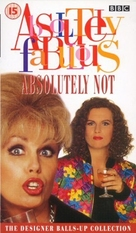 """""""Absolutely Fabulous"""" - British VHS movie cover (xs thumbnail)"""