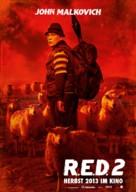 RED 2 - German Movie Poster (xs thumbnail)