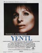 Yentl - Belgian Movie Poster (xs thumbnail)