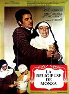 La monaca di Monza - French Movie Poster (xs thumbnail)