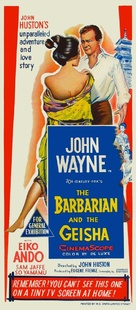 The Barbarian and the Geisha - Australian Movie Poster (xs thumbnail)