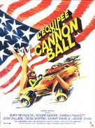The Cannonball Run - French Movie Poster (xs thumbnail)