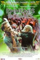 Mein liebster Feind - Klaus Kinski - French Movie Poster (xs thumbnail)