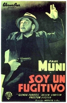 I Am a Fugitive from a Chain Gang - Argentinian Movie Poster (xs thumbnail)