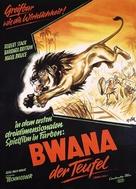 Bwana Devil - German Movie Poster (xs thumbnail)