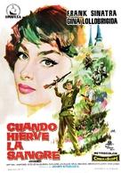 Never So Few - Spanish Movie Poster (xs thumbnail)