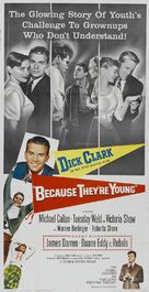 Because They're Young - Movie Poster (xs thumbnail)