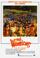 The Warriors - Spanish Movie Poster (xs thumbnail)