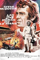 Le Mans - Spanish Movie Poster (xs thumbnail)
