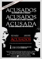 The Accused - Spanish Movie Poster (xs thumbnail)