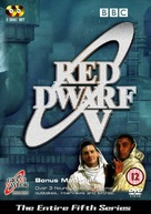 """Red Dwarf"" - British DVD movie cover (xs thumbnail)"