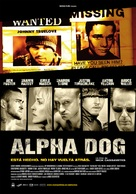 Alpha Dog - Spanish Movie Poster (xs thumbnail)