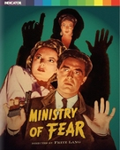 Ministry of Fear - British Blu-Ray movie cover (xs thumbnail)